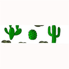 Cactuses 3 Large Bar Mats by Valentinaart