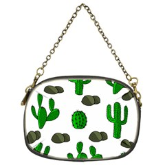 Cactuses 3 Chain Purses (one Side)  by Valentinaart