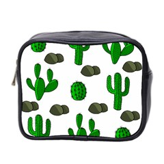 Cactuses 3 Mini Toiletries Bag 2 Side by Valentinaart