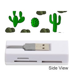 Cactuses 3 Memory Card Reader (stick)  by Valentinaart