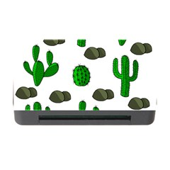 Cactuses 3 Memory Card Reader With Cf by Valentinaart