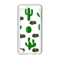 Cactuses 3 Apple Ipod Touch 5 Case (white) by Valentinaart