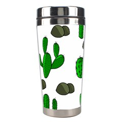 Cactuses 3 Stainless Steel Travel Tumblers by Valentinaart