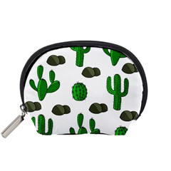 Cactuses 3 Accessory Pouches (small)  by Valentinaart