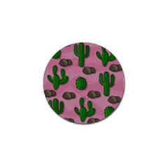 Cactuses 2 Golf Ball Marker (4 Pack) by Valentinaart