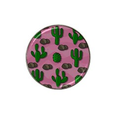 Cactuses 2 Hat Clip Ball Marker by Valentinaart