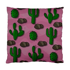 Cactuses 2 Standard Cushion Case (one Side) by Valentinaart