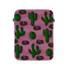 Cactuses 2 Apple Ipad 2/3/4 Protective Soft Cases by Valentinaart