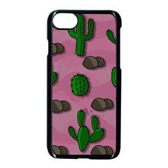 Cactuses 2 Apple Iphone 7 Seamless Case (black) by Valentinaart