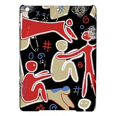 Family Ipad Air Hardshell Cases by Valentinaart