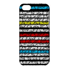 Simple Colorful Design Apple Iphone 5c Hardshell Case by Valentinaart