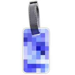 Pixie Blue Luggage Tags (one Side)  by designsbyamerianna