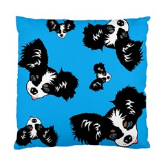 Cute Face Dog Funny Detective Standard Cushion Case (two Sides)