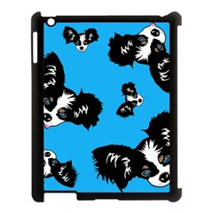 Cute Face Dog Funny Detective Apple Ipad 3/4 Case (black) by AnjaniArt