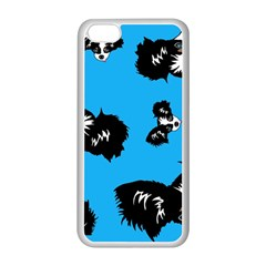 Cute Face Dog Funny Detective Apple Iphone 5c Seamless Case (white)