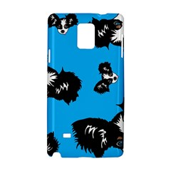 Cute Face Dog Funny Detective Samsung Galaxy Note 4 Hardshell Case