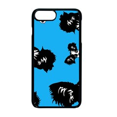 Cute Face Dog Funny Detective Apple Iphone 7 Plus Seamless Case (black) by AnjaniArt