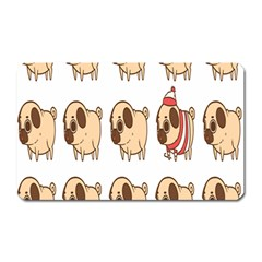 Cute Dog Magnet (rectangular)