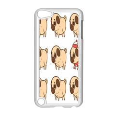 Cute Dog Apple Ipod Touch 5 Case (white) by AnjaniArt