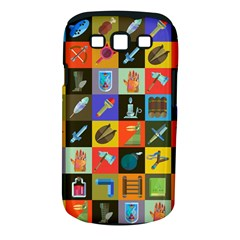 Equipment Work Samsung Galaxy S Iii Classic Hardshell Case (pc+silicone)