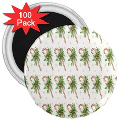 Candy Cane Printable 3  Magnets (100 Pack)