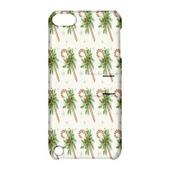 Candy Cane Printable Apple Ipod Touch 5 Hardshell Case With Stand