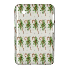 Candy Cane Printable Samsung Galaxy Tab 2 (7 ) P3100 Hardshell Case  by AnjaniArt