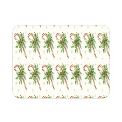Candy Cane Printable Double Sided Flano Blanket (mini)