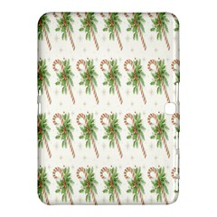 Candy Cane Printable Samsung Galaxy Tab 4 (10 1 ) Hardshell Case  by AnjaniArt
