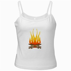 Fire Ladies Camisoles by AnjaniArt
