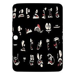 Face Mask Animals Samsung Galaxy Tab 3 (10 1 ) P5200 Hardshell Case