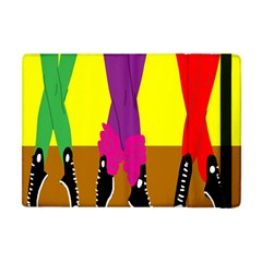 Foot Dance Apple Ipad Mini Flip Case