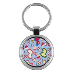 Fruit Apple Key Chains (round)  by AnjaniArt