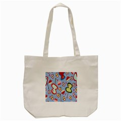 Fruit Apple Tote Bag (cream)