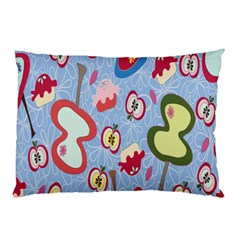 Fruit Apple Pillow Case by AnjaniArt