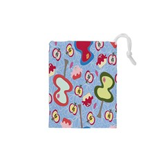 Fruit Apple Drawstring Pouches (xs)  by AnjaniArt