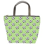 Green Ball Bucket Bags Front