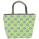 Green Ball Bucket Bags Back