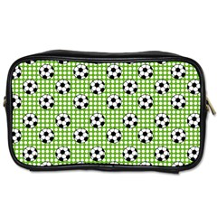 Green Ball Toiletries Bags by AnjaniArt