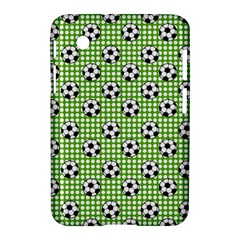 Green Ball Samsung Galaxy Tab 2 (7 ) P3100 Hardshell Case  by AnjaniArt