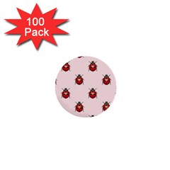 Insect Animals Cute 1  Mini Buttons (100 Pack)