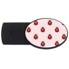 Insect Animals Cute Usb Flash Drive Oval (4 Gb)  by AnjaniArt