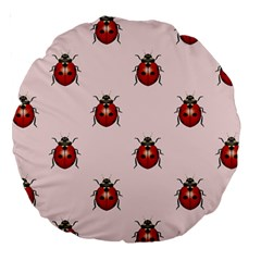 Insect Animals Cute Large 18  Premium Round Cushions