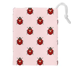 Insect Animals Cute Drawstring Pouches (xxl) by AnjaniArt