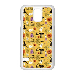 Halloween Pattern Samsung Galaxy S5 Case (white) by AnjaniArt