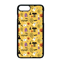 Halloween Pattern Apple Iphone 7 Plus Seamless Case (black) by AnjaniArt