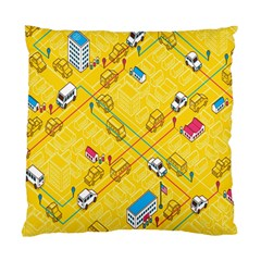 Highway Town Standard Cushion Case (two Sides) by AnjaniArt