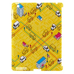 Highway Town Apple Ipad 3/4 Hardshell Case (compatible With Smart Cover)