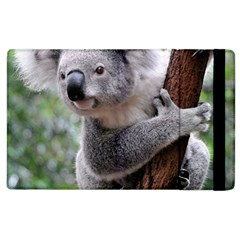 Koala Apple Ipad 2 Flip Case by AnjaniArt