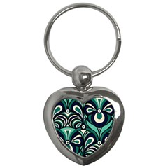 Missoni Spring Summer Key Chains (heart)  by AnjaniArt